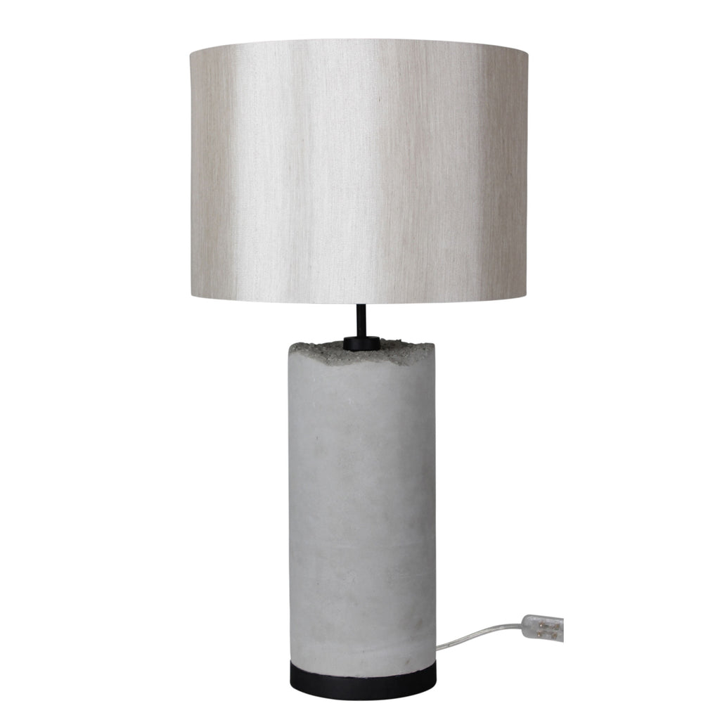 Pilos Table Lamp Grey-Bibilo