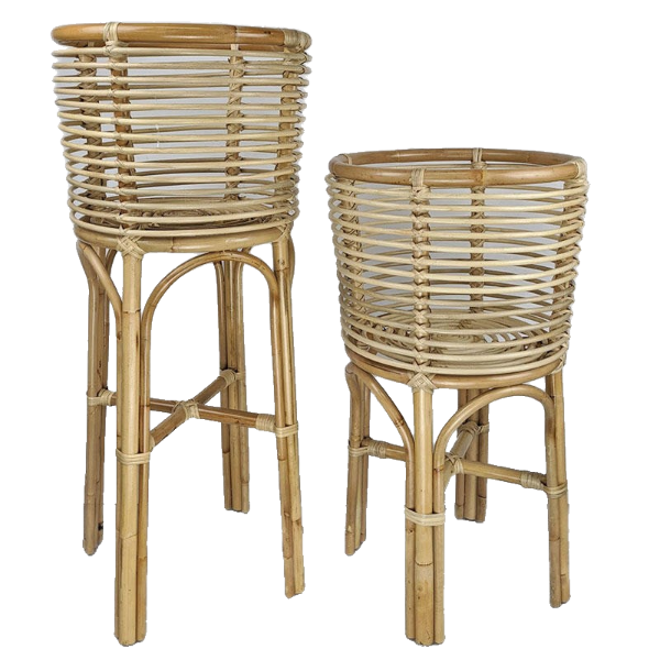 Byron Plant Stand Large Natural-Bibilo