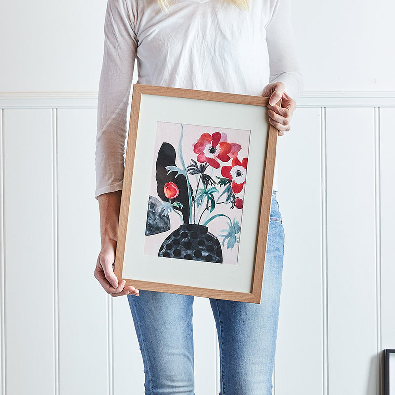 Red Poppies Print-Bibilo