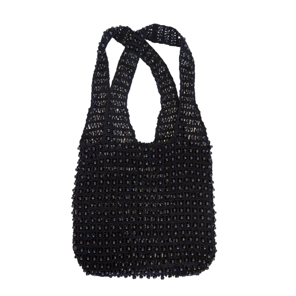 1000 Bead Bag Black-Bibilo