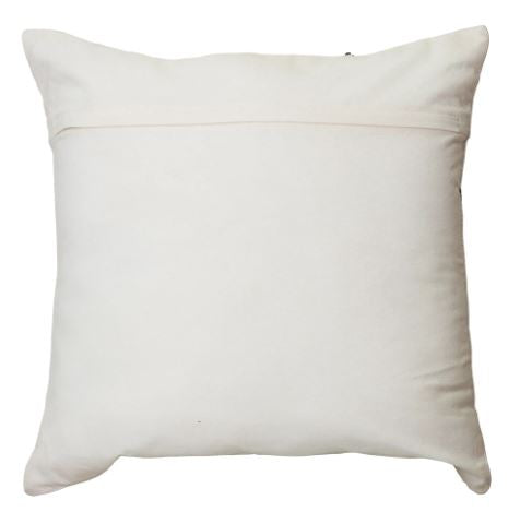 Sierra Square 50cm Cushion Ivory Set of 2-Bibilo