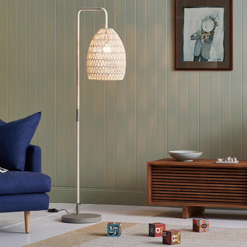 Ava Floor Lamp Natural-Bibilo