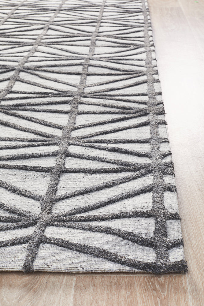Zigana Winter Pewter Rug-Bibilo