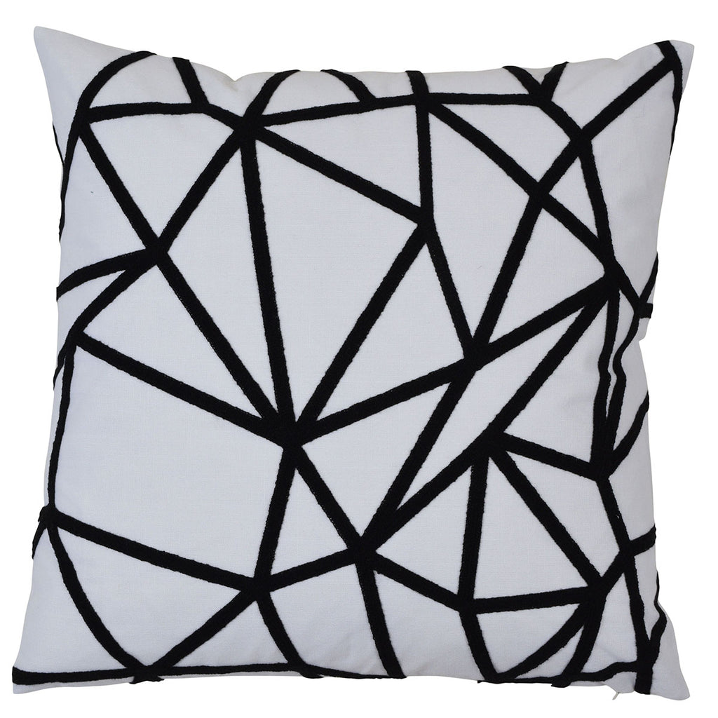 Waverley Black 50cm Cushion Cover-Bibilo