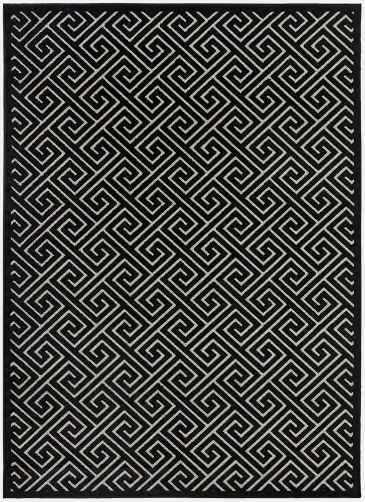 Alice Black & Gold Rug-Bibilo