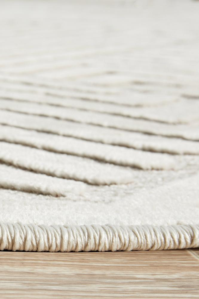 Cindy Natural White Rug-Bibilo