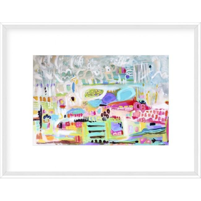 Abstract Clouds Framed Print-Bibilo