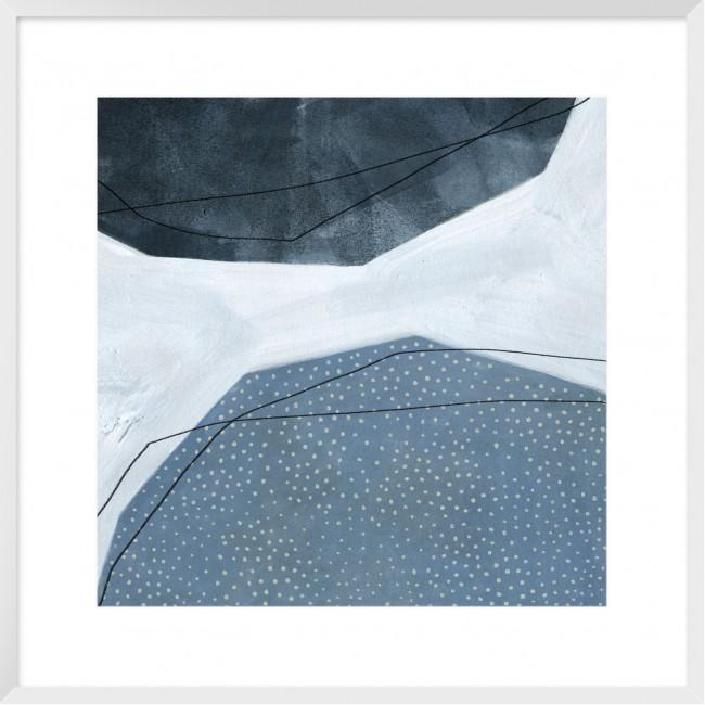 Adjacent Abstraction I Framed Print-Bibilo