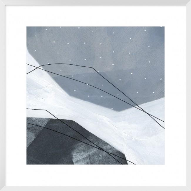 Adjacent Abstraction IV Framed Print-Bibilo
