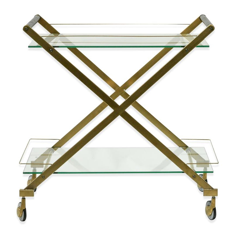 Gatsby Bar Cart Gold-Bibilo