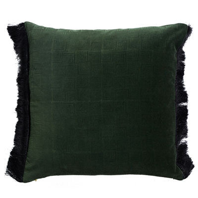 Chicago Square 50cm Cushion Leaf Green Set of 2-Bibilo