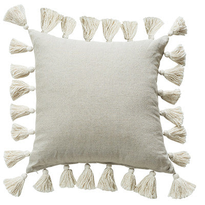 Majorelle Heritage 55cm Cushions Natural Set of 2-Bibilo