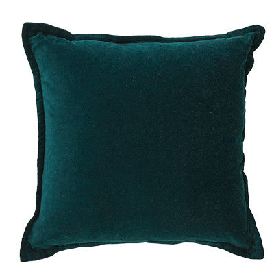 Familia Square 50cm Cushion Peacock Set of 2-Bibilo