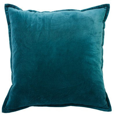 Long Island Square 50cm Cushion Teal Set of 2-Bibilo