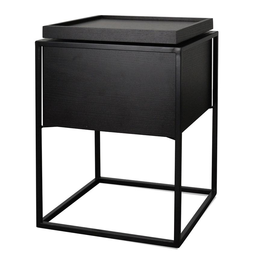 Norgen Side Table Black-Bibilo