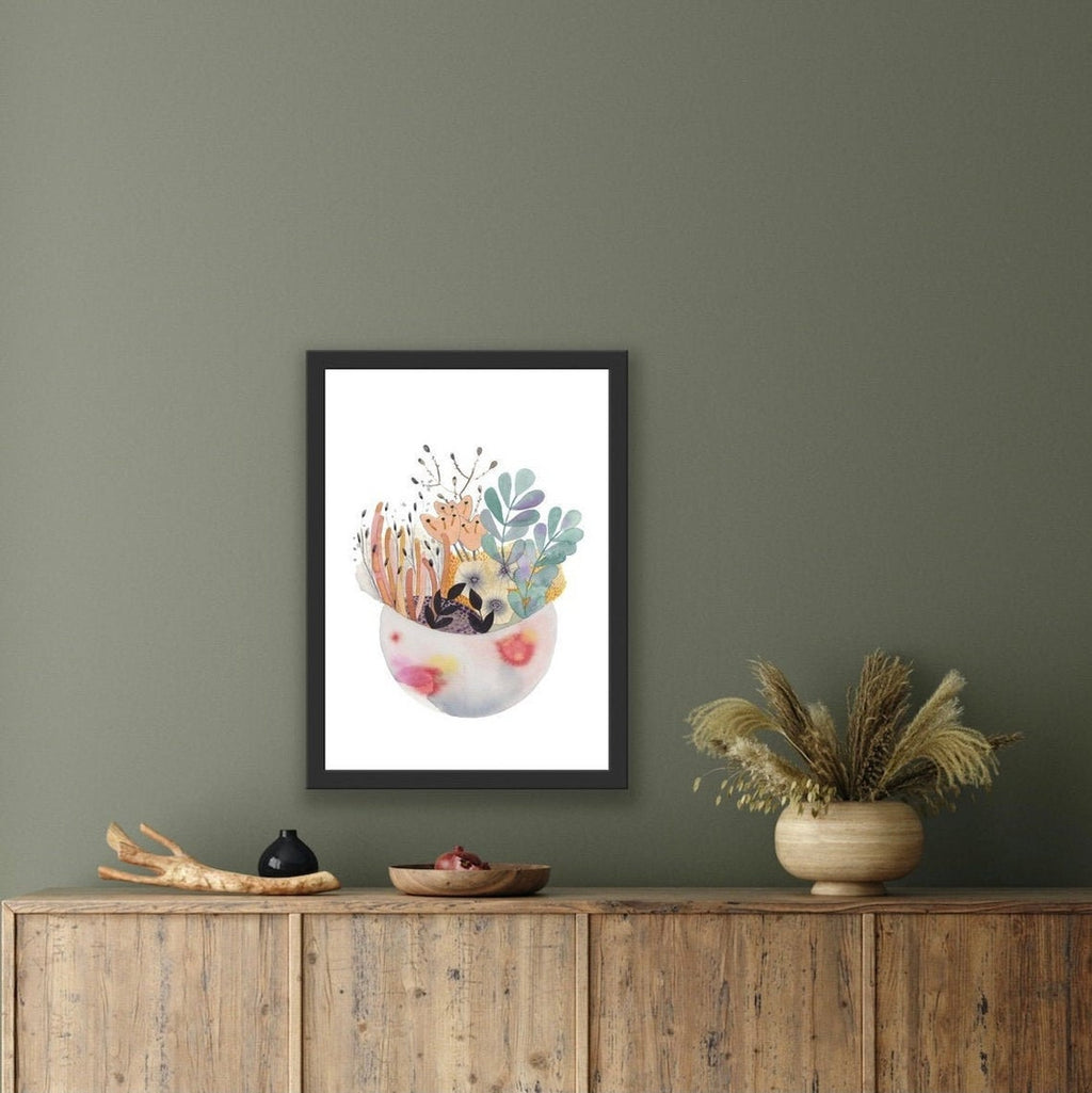 Forest Meets the Sea Print-Bibilo