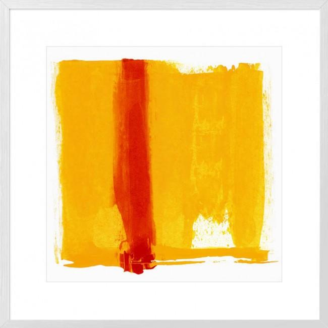 Orange Streak Framed Print-Bibilo