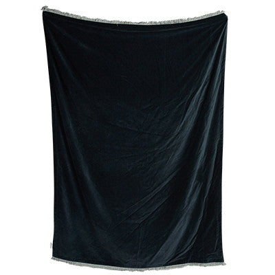Mansour Velvet Throw Ink-Bibilo