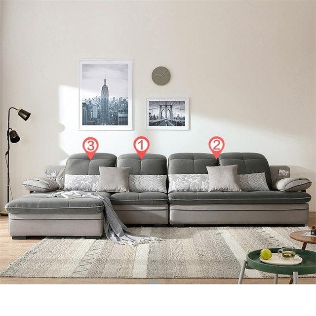Casa Sectional Koltuk Takimi Kanepe Moderna Couche For Oturma Grubu Puff Mueble De Sala Set Living Room Furniture Mobilya Sofa