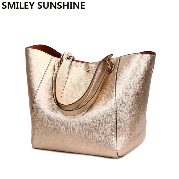 Luxury for Her Leather Shoulder Bags Big Capacity Top-handle Tote Bag Large  Purses and 96b3a7065708