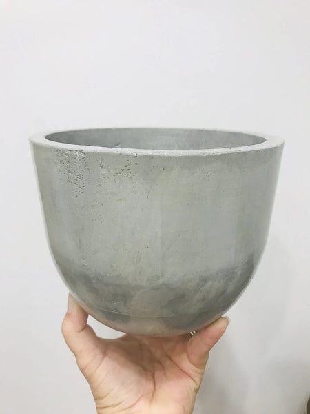 Hallow Concrete Planter
