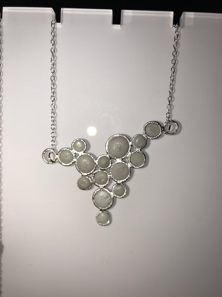 Bubble Pendant Silver