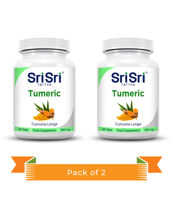 Turmeric Tablets Pack of 2