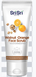 Walnut Orange Face Scrub