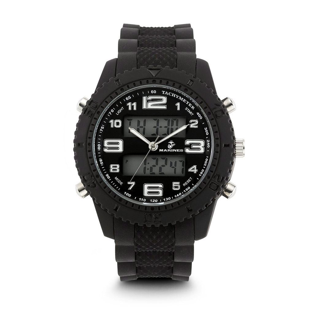 U.S. Marine Corps C27 | Analog-Digital Display Quartz Multi-function Watch