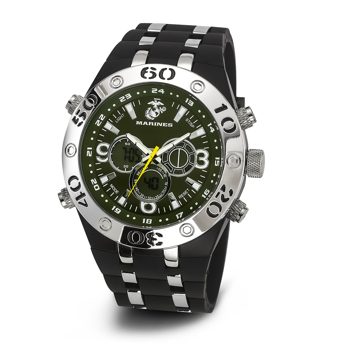 U.S. Marine Corps C23 | Analog-Digital Display Quartz Multi-function Watch