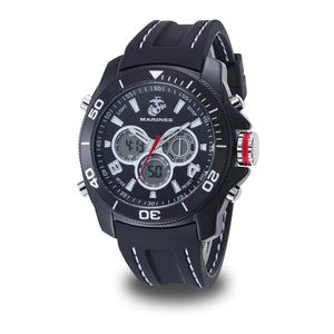 Men's U.S. Marine Corps F1/1014 C29 Analog-Digital Display Quartz Multi-function Watch