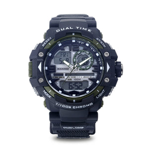 Men's U.S. Marine Corps 37100031 C41 Analog-Digital Display Quartz Multi-function Watch