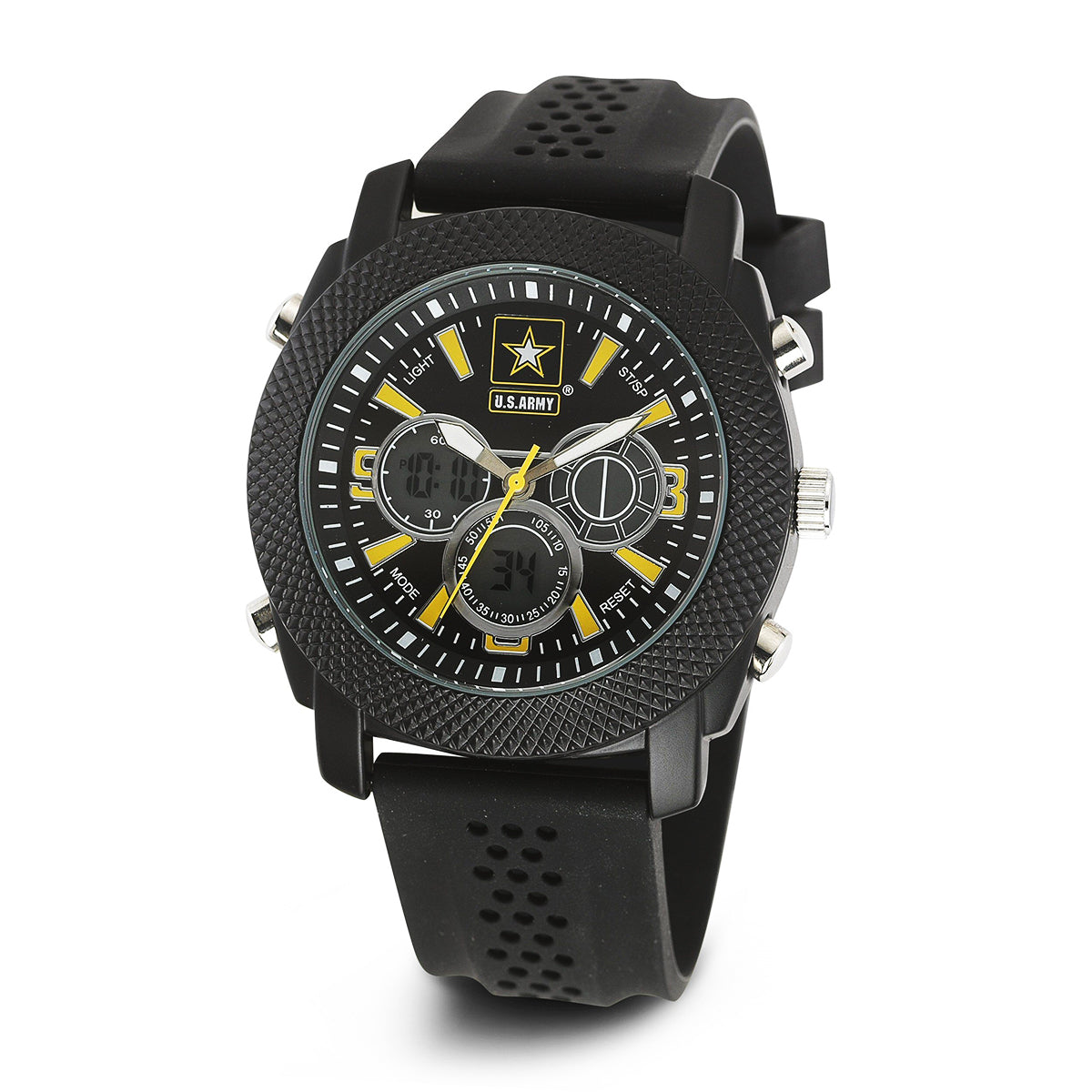 U.S. Army C21 | Analog-Digital Display Quartz Multi-function Watch