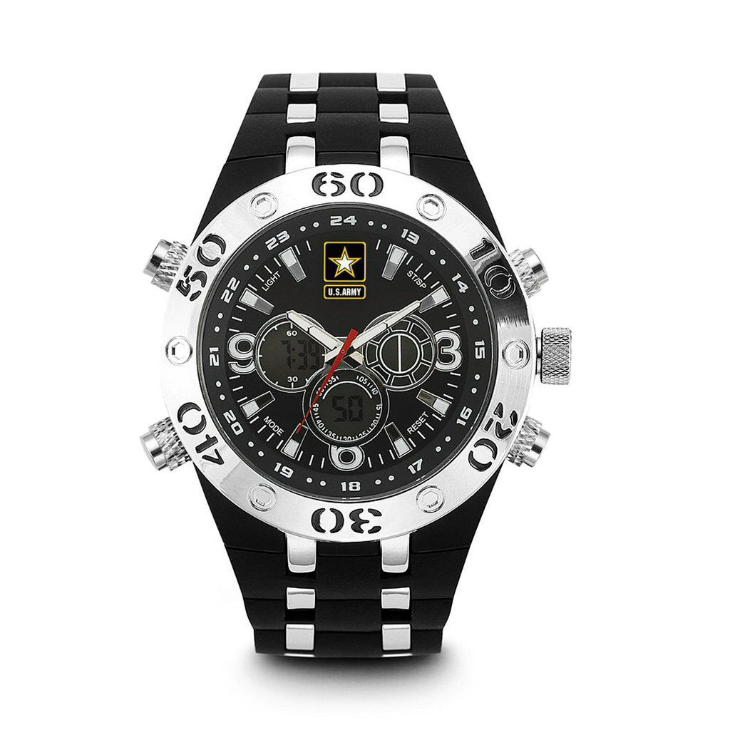 U.S. Army C23 | Analog-Digital Display Quartz Multi-function Watch