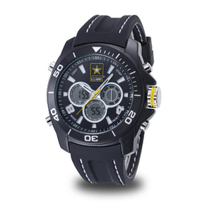 Men's U.S. Army 37200015 C29 Analog-Digital Display Quartz Multi-function Watch