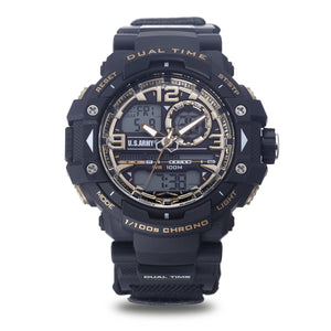 Men's U.S. Army 37200026 C41 Analog-Digital Display Quartz Multi-function Watch