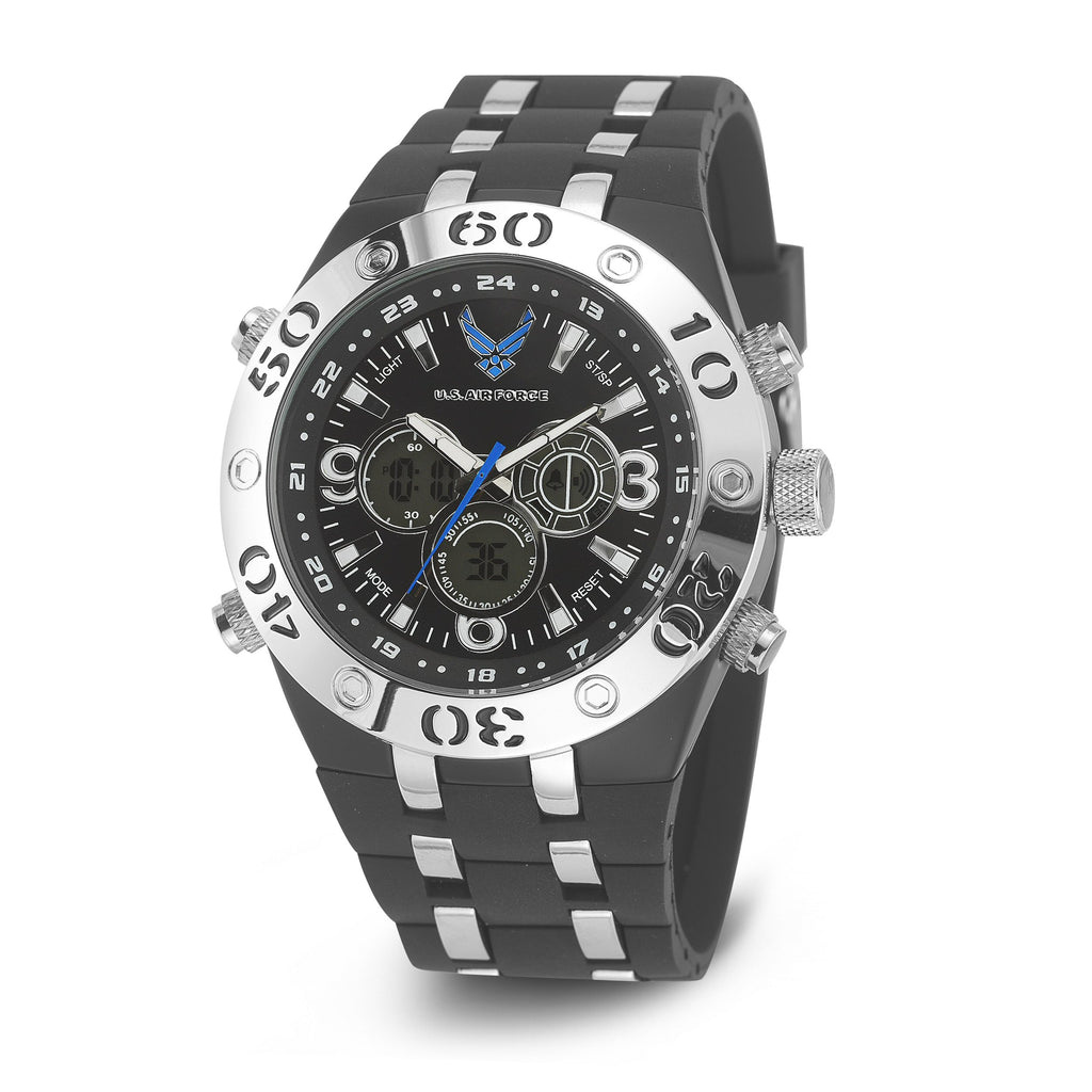 U.S. Air Force C23 | Analog-Digital Display Quartz Multi-function Watch