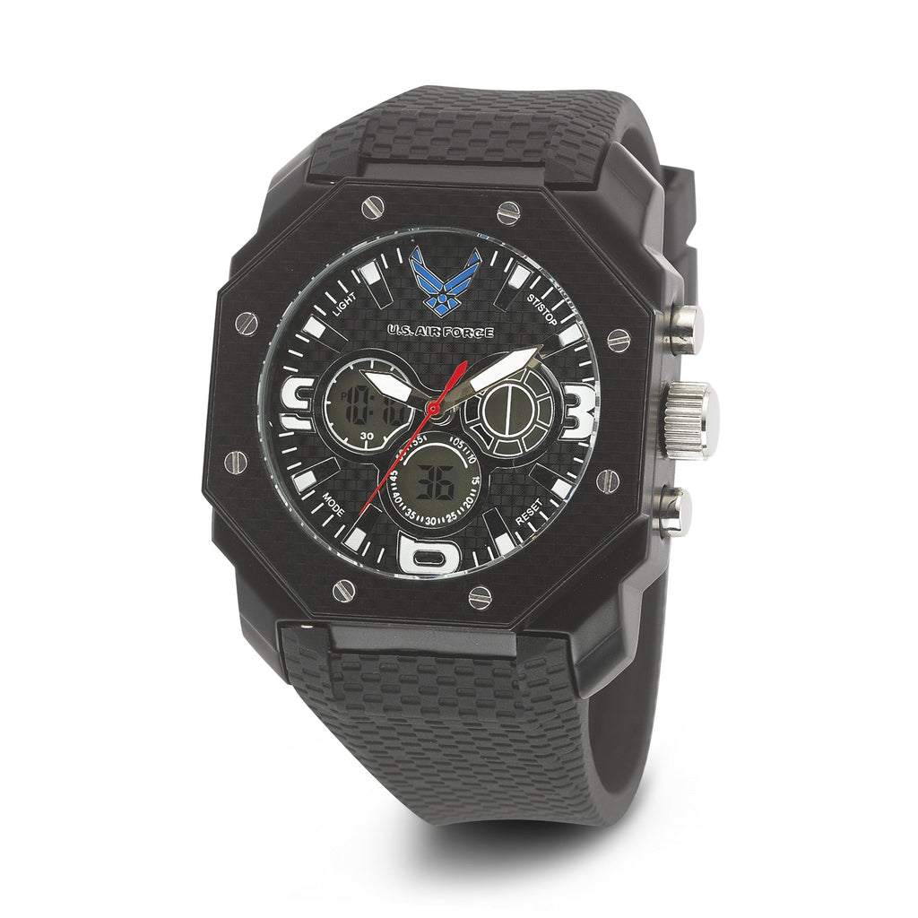 Men's U.S. Air Force 37300008 C28 Analog-Digital Display Quartz Multi-function Watch