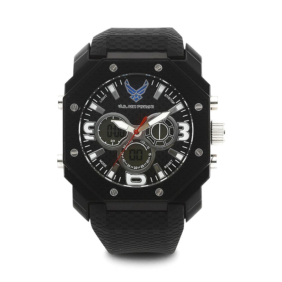 U.S. Air Force C28 | Analog-Digital Display Quartz Multi-function Watch
