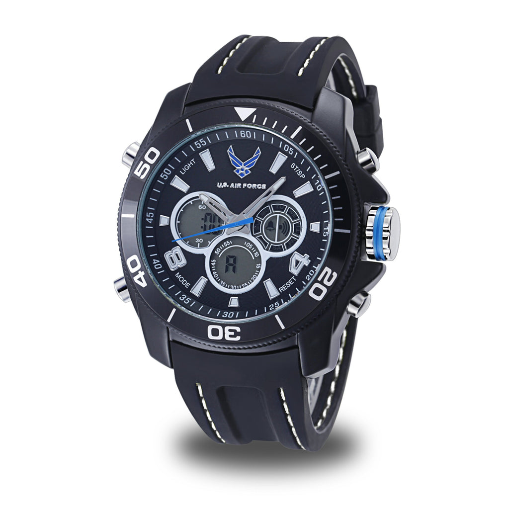Men's U.S. Air Force 37300009 C29 Analog-Digital Display Quartz Multi-function Watch