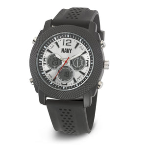 Men's U.S. Navy F4/1003 C21 Analog-Digital Display Quartz Multi-function Watch