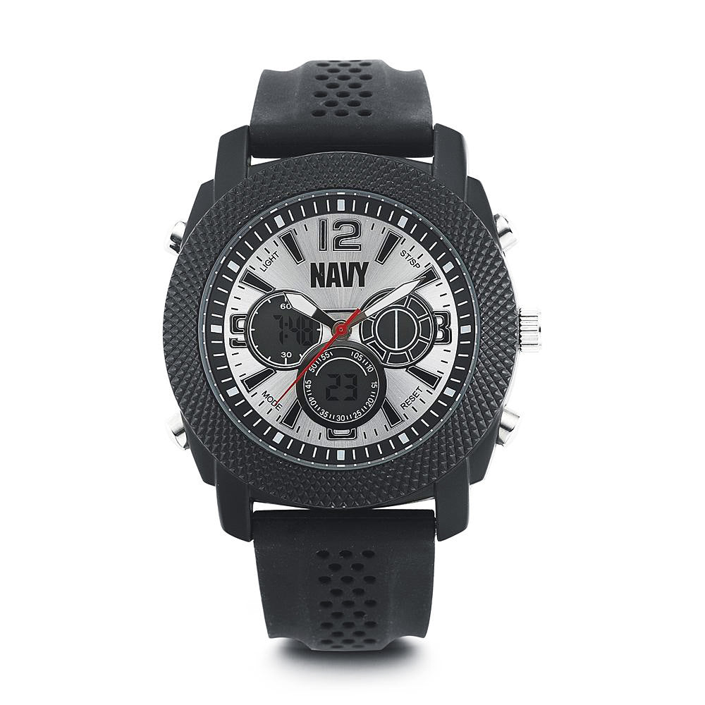 U.S. Navy C21 | Analog-Digital Display Quartz Multi-function Watch