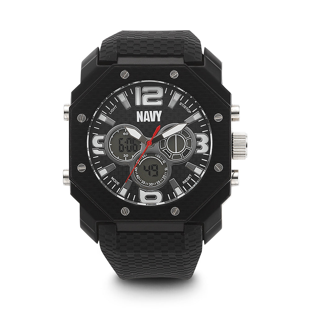 U.S. Navy C28 | Analog-Digital Display Quartz Multi-function Watch