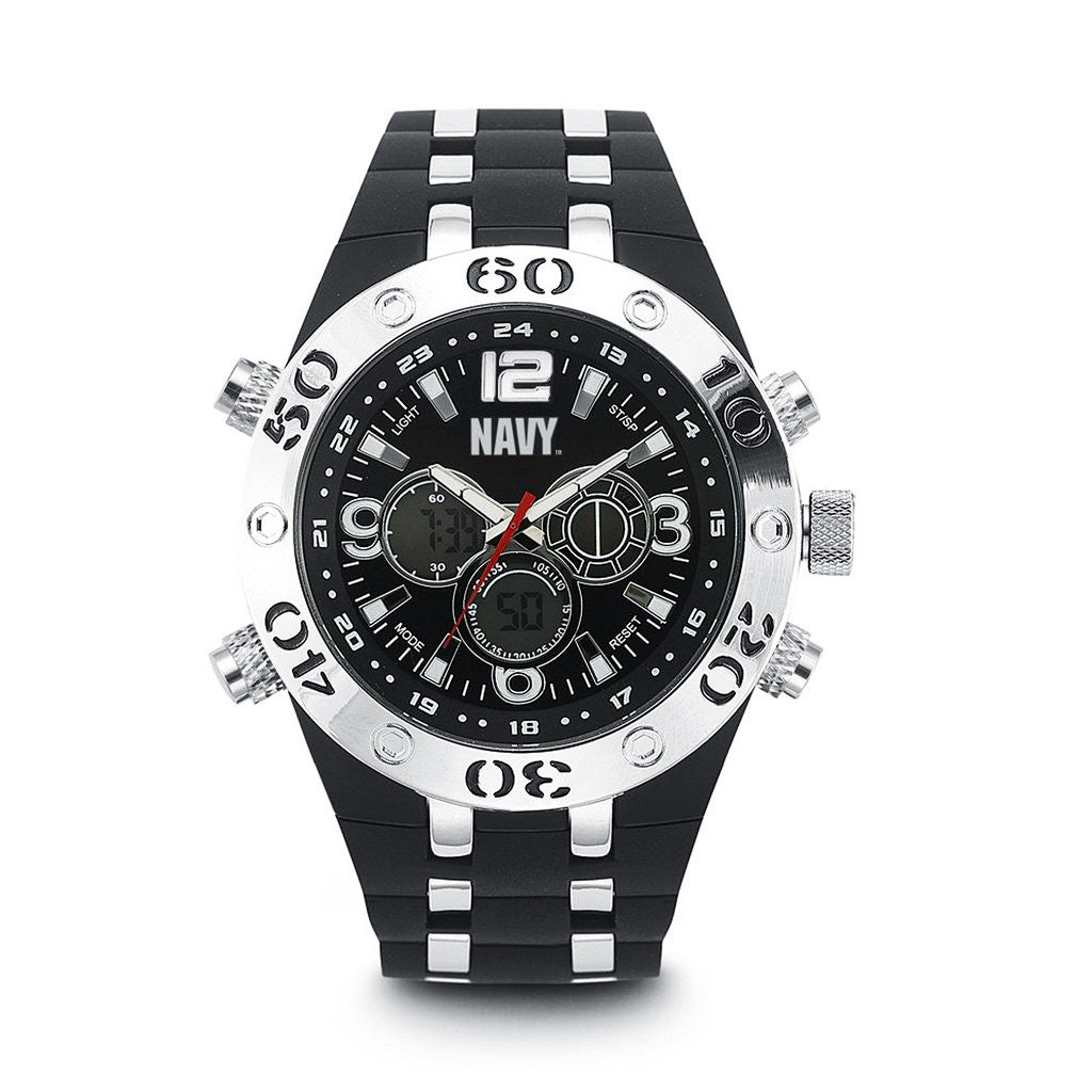 U.S. Navy C23 | Analog-Digital Display Quartz Multi-function Watch
