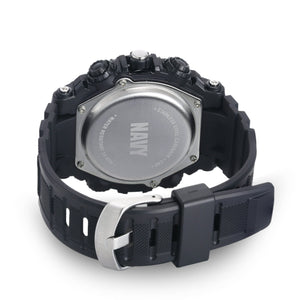 Men's U.S. Navy F4/1016 C40 Analog-Digital Display Quartz Multi-function Watch