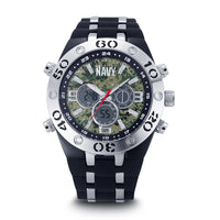 U.S. Navy C23 | Analog-Digital Display Multifunction Quartz Watch with Camouflage Dial