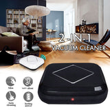 New 2 in 1 Automatic robot vacuum cleaner Home Smart Rechargeable Sweeping Floor aspirador Household Mopping Cleaning Machine - i-bazar