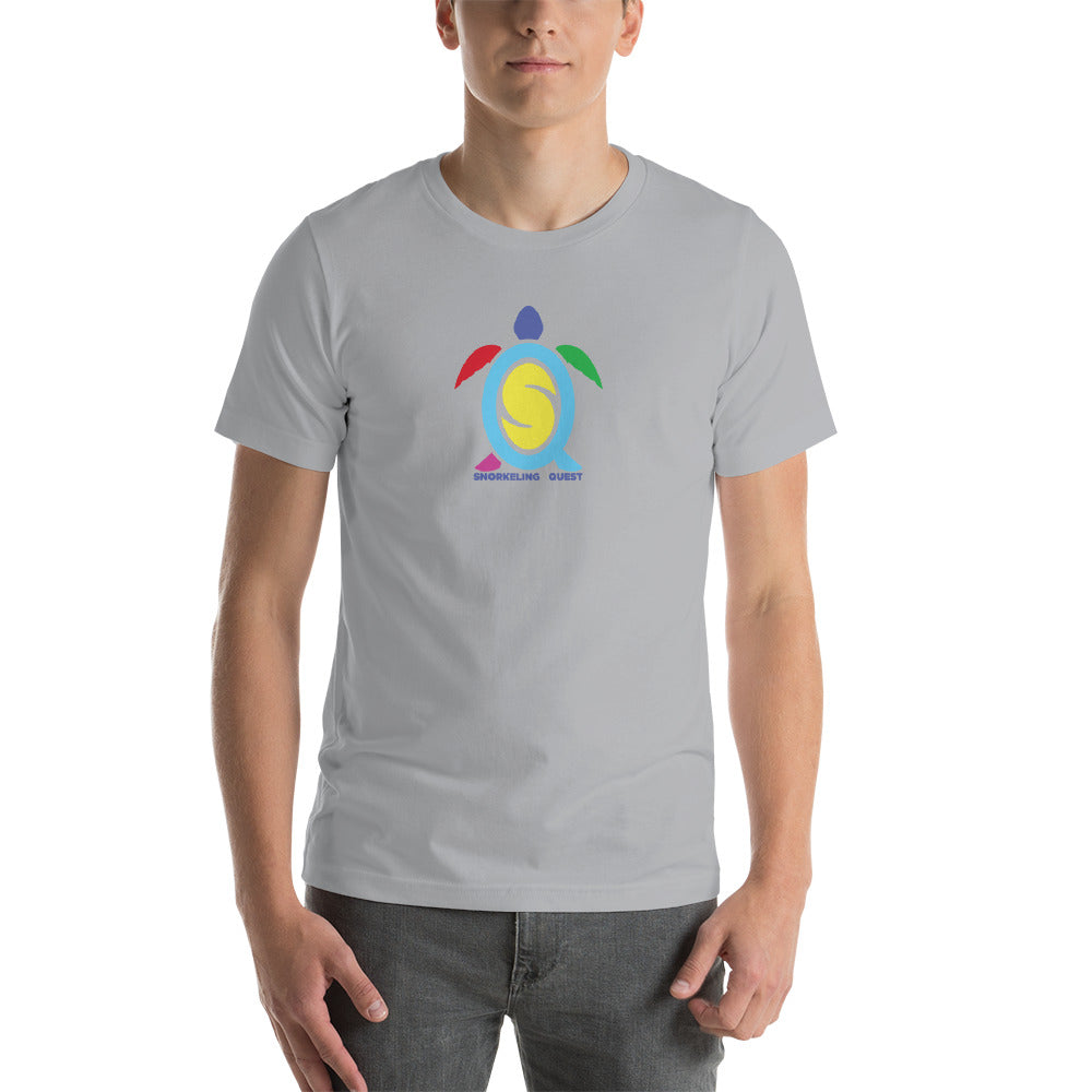 Short-Sleeve Unisex T-Shirt Colorful Logo