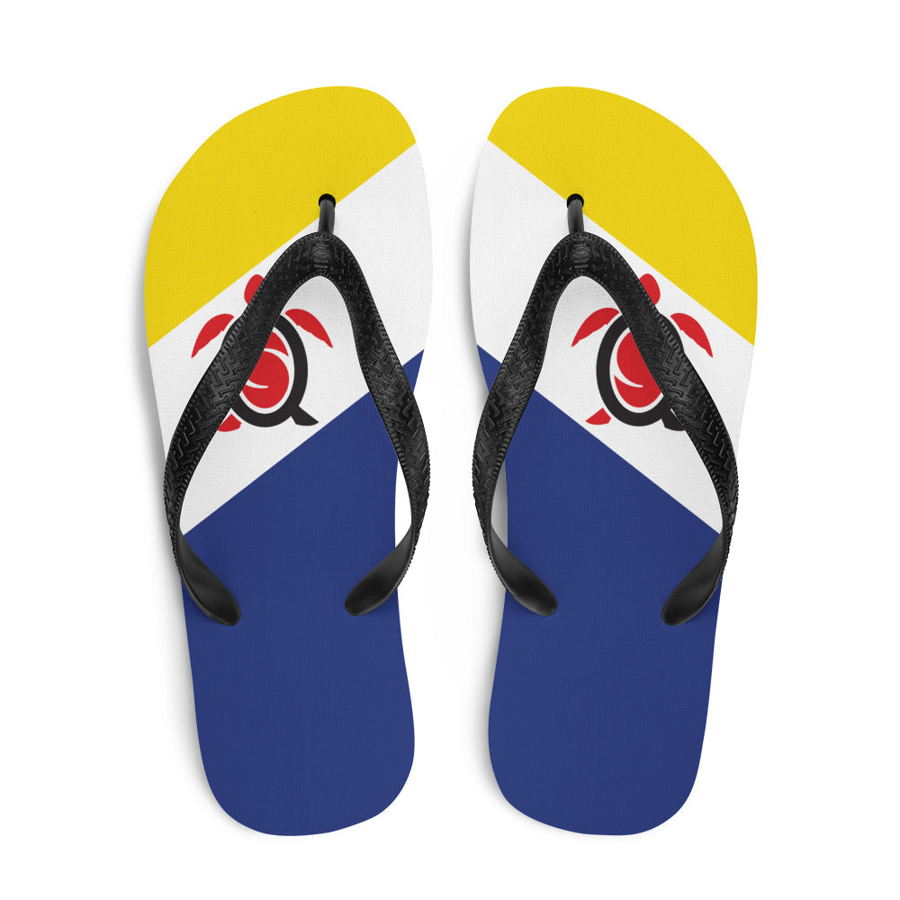 Flip-Flops Bonaire Flag Colors