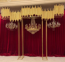 3 Chandelier Backdrop